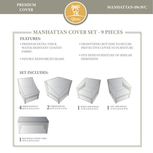 MANHATTAN-09c Protective Cover Set