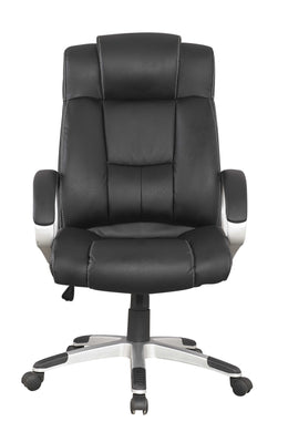 Manhattan Comfort Presidentential Washington Office Chair in Black