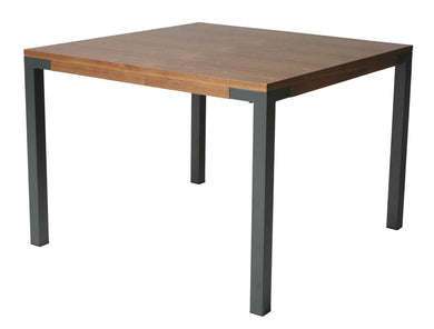 Amrita Square Dining Table, SF Matte Gray