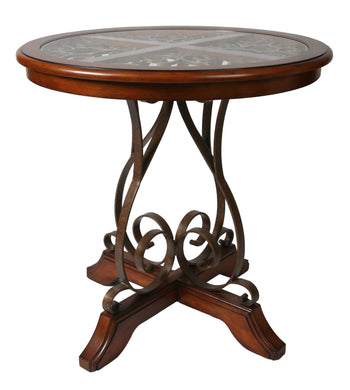 Carmel Pub Table, Murano Accent/Cosmo Sepia