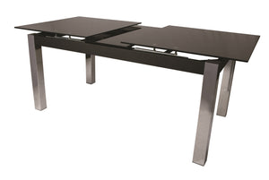 Monaco Rectangular Dining Table, Chrome