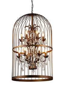 Warehouse of Tiffany Rinee III Cage Chandelier