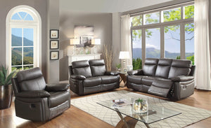 Ryker Reclining Sofa, Reclining Loveseat and Glider Reclining Chair, 3-Piece Set