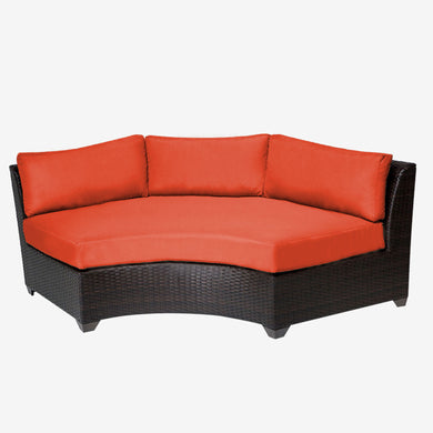 Barbados Curved Armless Sofa 2 Per Box