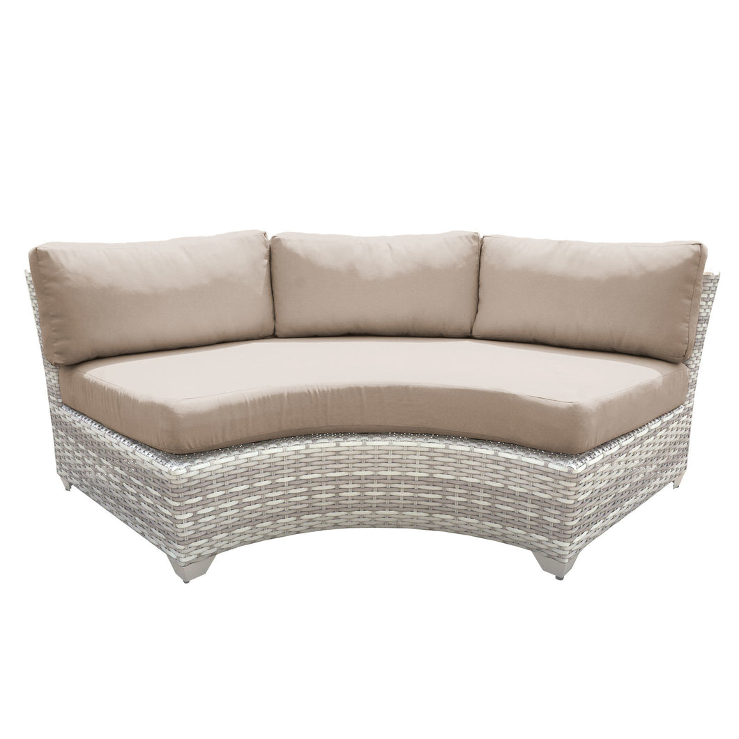Fairmont Curved Armless Sofa 2 Per Box