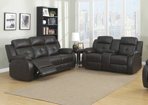 Troy Power 2-Piece  Transitional Reclining Living Room Set