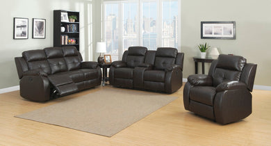 Troy Power 3-Piece  Transitional Reclining Living Room Set