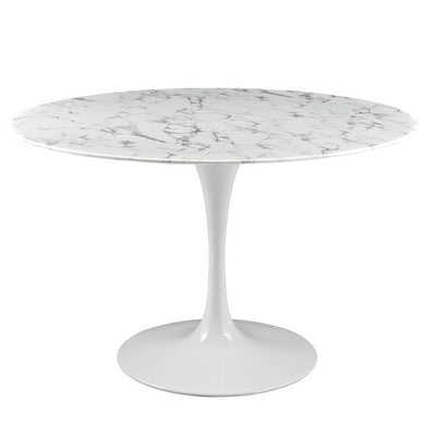 Tulip Oval Marble Table 66