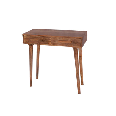 The Urban Port Brand Exclusive Wooden Side Stool with Two Drawers