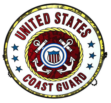 USCG101 US Coast Guard Suncatcher