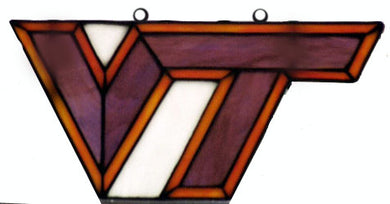 VAT102 Virginia Tech Suncatcher