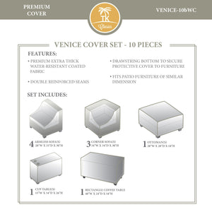 VENICE-10b Protective Cover Set