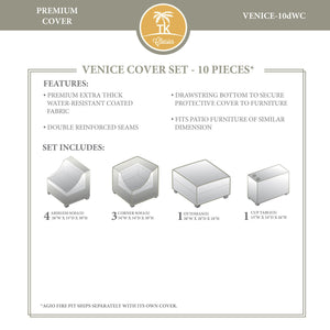 VENICE-10d Protective Cover Set