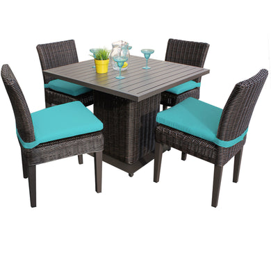 Venice Square Dining Table with 4 Chairs