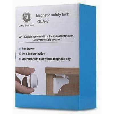 Magnetic Baby Safety Cabinet Lock - 4 Pcs - oltrends