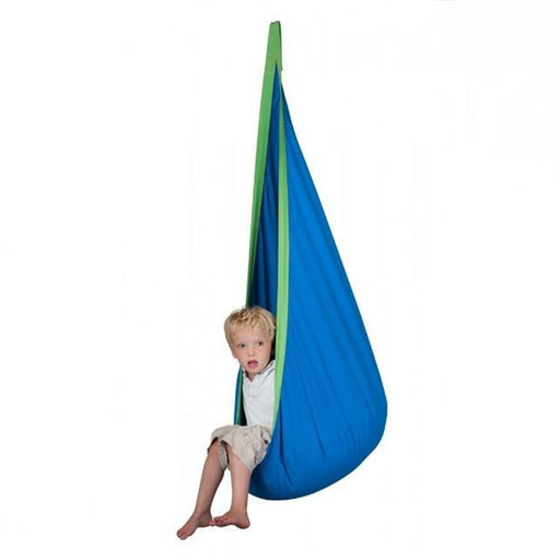 Kids Hanging Cotton Hammock Pod Swing Chair - oltrends