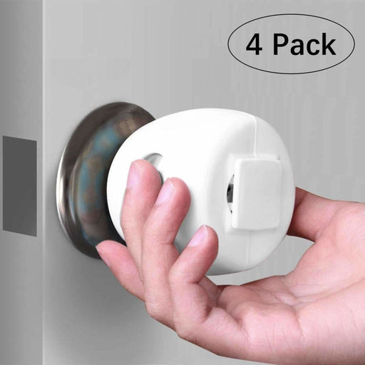 Baby Door Knob Safety Cover (4 Packs) - oltrends