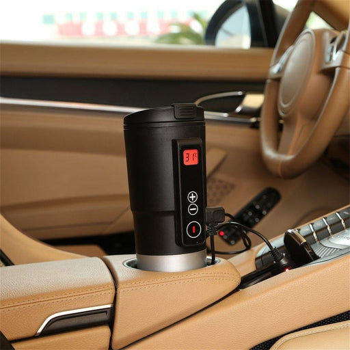 Intelligent Car Auto Heating Cup Adjustable Temperature Electric Kettle - oltrends
