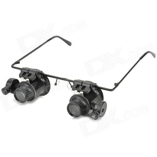 Glass 20X Magnifier with White LED Light - oltrends