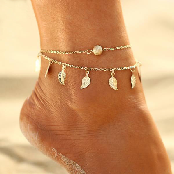 Leaves Anklet