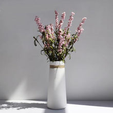 Load image into Gallery viewer, Straw Rope White Hand Crafted Ceramic Vase - Above Urban