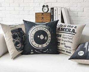 Capture The Photographer In You Cushion Covers - Above Urban
