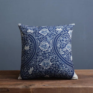 Porcelain Inspired Cushion Covers - Above Urban