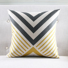 Load image into Gallery viewer, Artistic Asymmetrical II Cushions Covers - Above Urban