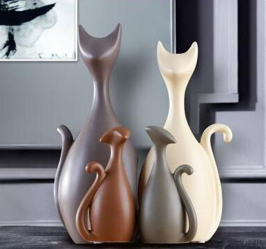 Cat Deer Giraffe Family Love Decor - Above Urban