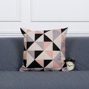 Monochromatic Pink Artistic Cushion Covers (variant issue) - Above Urban