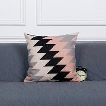 Load image into Gallery viewer, Monochromatic Pink Artistic Cushion Covers (variant issue) - Above Urban