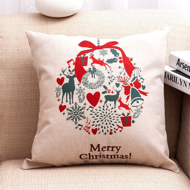 Merry Christmas Cushion Covers - Above Urban