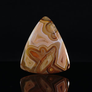 Tube Agate Cabochon - INDOMINERAL