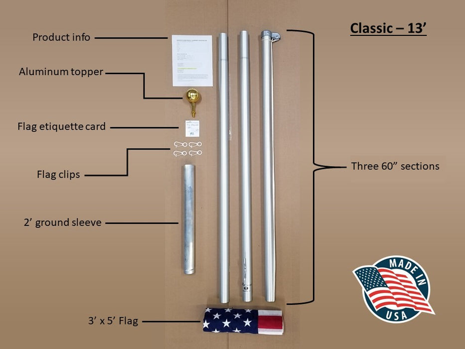 Flagpole (13ft.)
