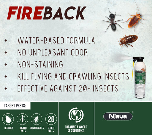 Fireback Insect Killer Application Sheet