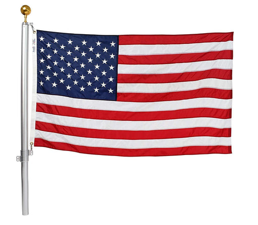 100% USA-Made Defender Flagpole Kit Swivel System