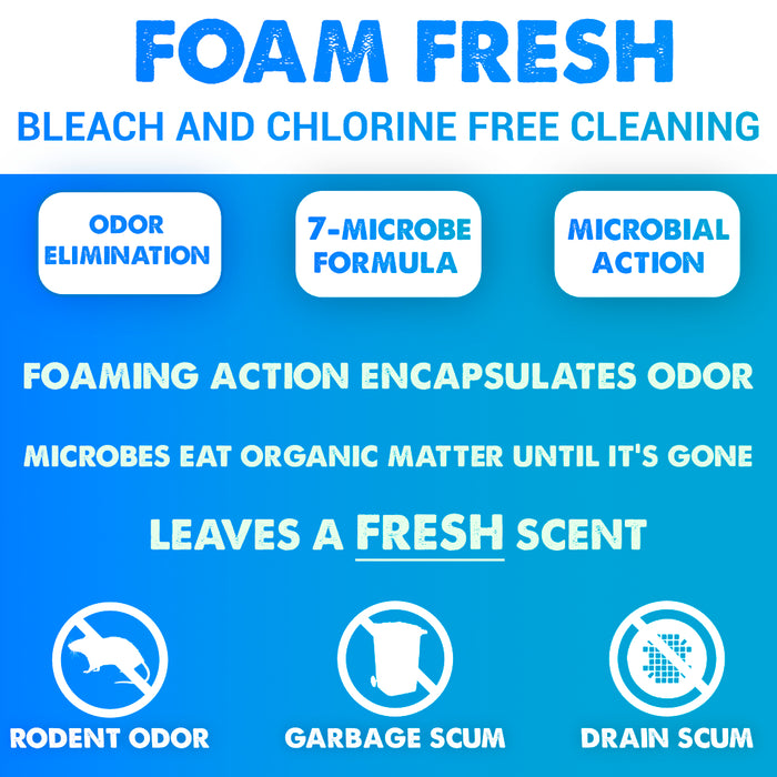 Foam Fresh Organic Foaming Cleaner 10oz.