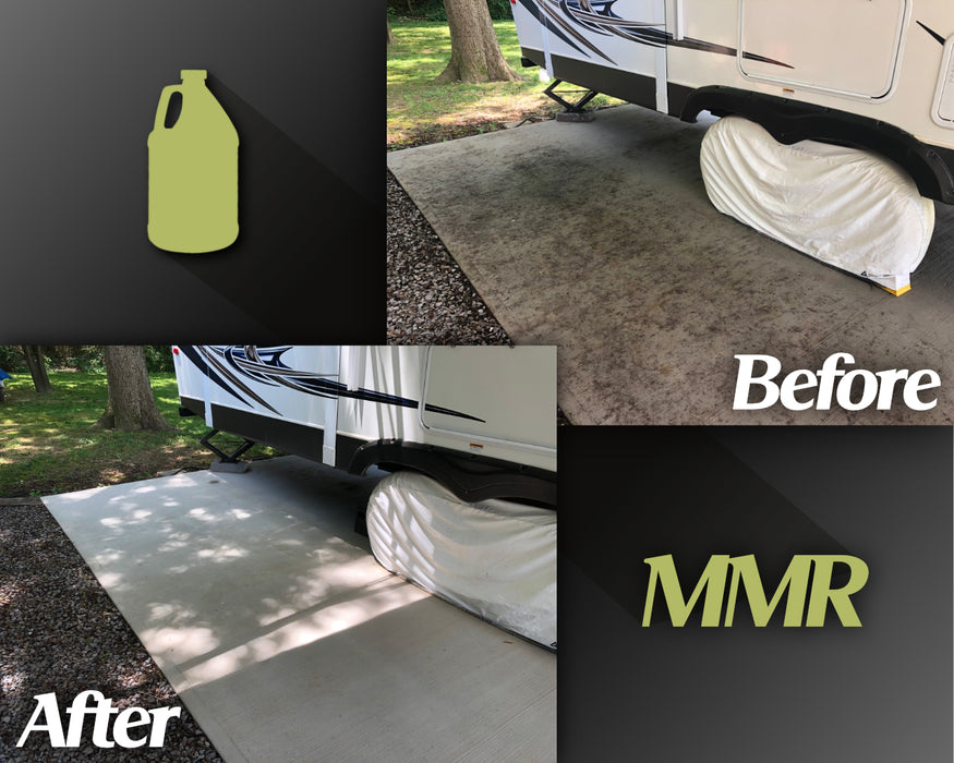 Mold Stain Remover Before and After