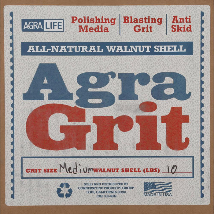 Walnut Shell Medium Blasting Abrasive