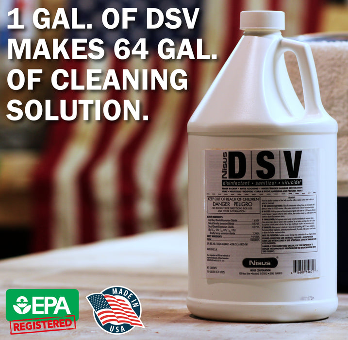 DSV Concentrate Disinfectant and Sanitizer (1 gallon)