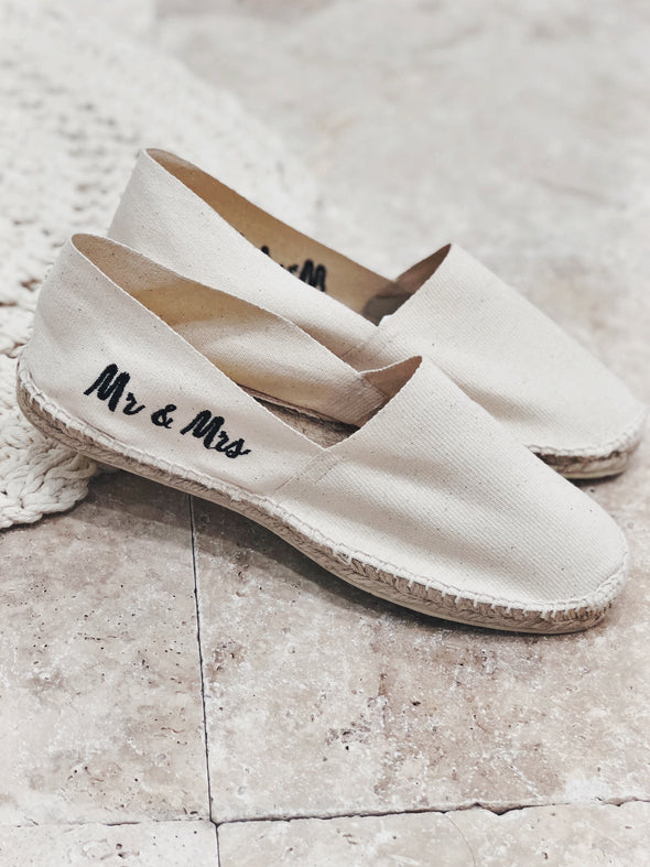 "Espadrilles Homme ""Mr & Mrs"""