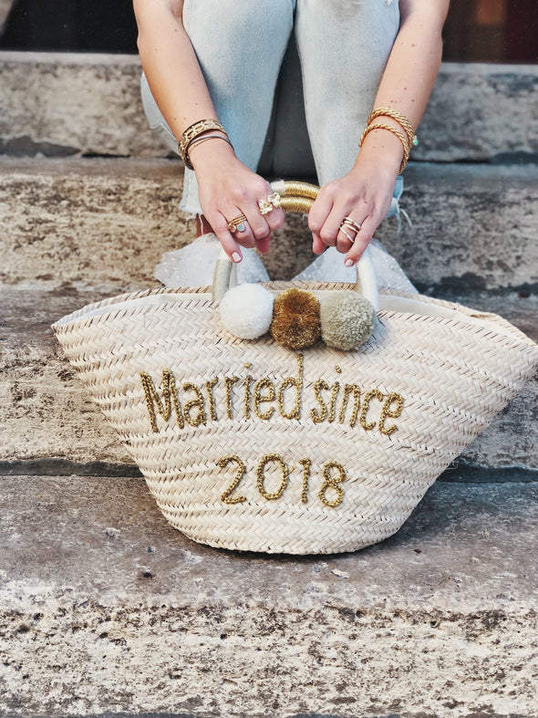 "Panier ""Married since"""