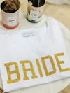 T-Shirt BRIDE GOLD