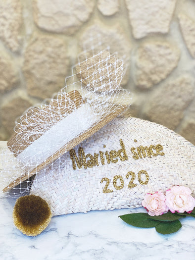 "Pochette ""Married since 2020"" Or"