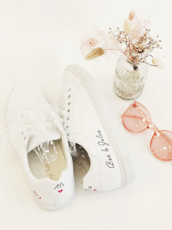 "Sneakers ""Still The Bride"" Femme"