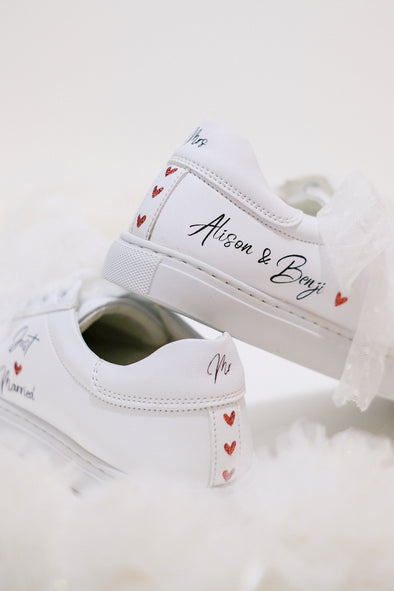"Sneakers ""Just Married"" Femme"