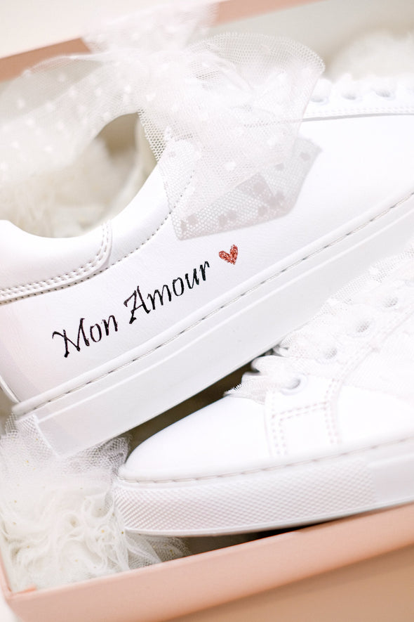 "Sneakers ""Mon Amour"""