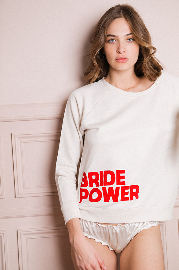 Sweat-shirt BRIDE POWER
