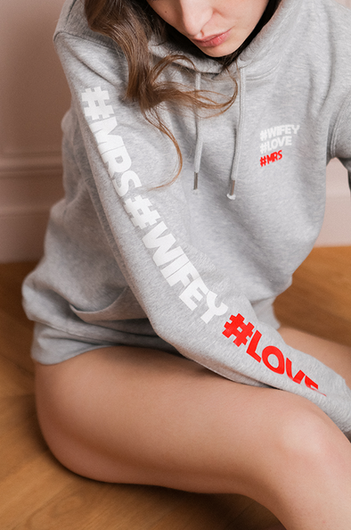 Sweat-shirt #LOVE