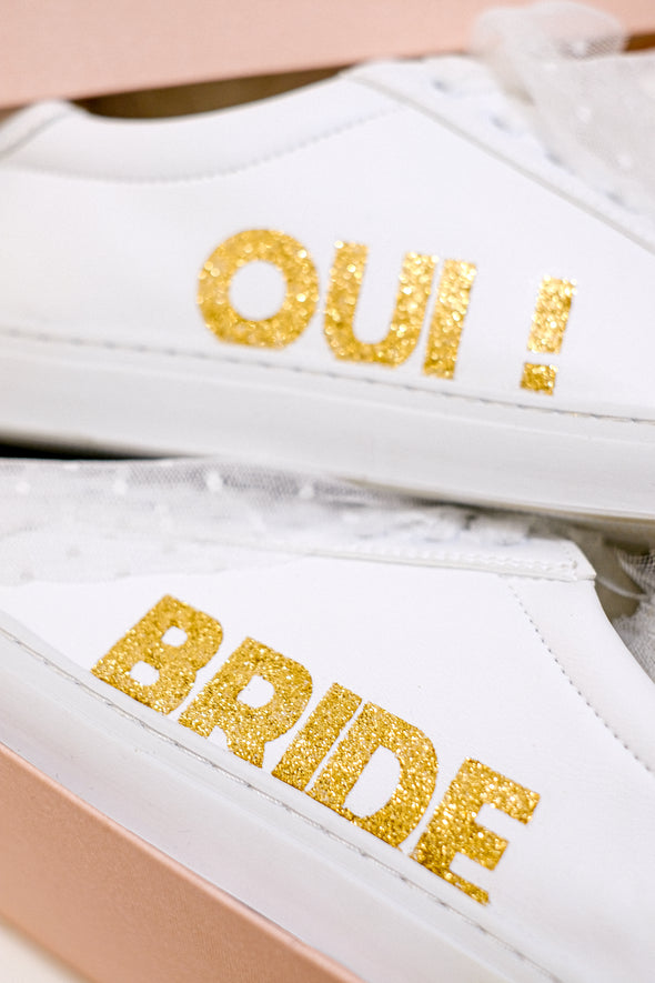 "Sneakers ""The Bride"""